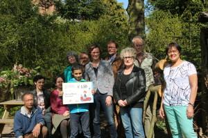 Prijsuitreiking eervolle vermelding Pluk v/d Petteflet Natuur & Milieuprijs 2015