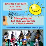 flyer zomerconcert 2015